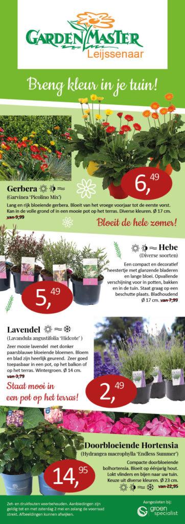 Tuinplanten aanbiedingenGardenMaster Leijssenaar